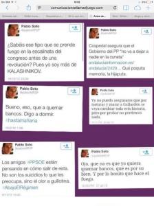 Tuits Pablo Soto